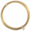 German Style Wire Round Gold 16ga 2.2m(7.2ft)